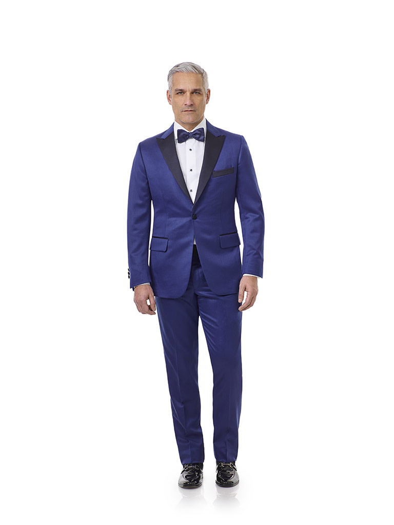 FORMAL                                                                                                                                                                                                                                                    , Royal Blue Solid Tuxedo