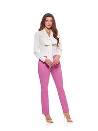 Ladies Colleciton                                                                                                                                                                                                                                         , 98% Cotton, 2% Stretch - Peony Plain
