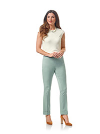 Ladies Colleciton                                                                                                                                                                                                                                         , Super Super 120's Wool - Mint Plain