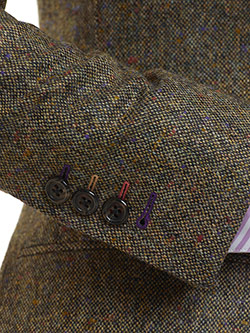 Custom Green Donegal - Holland & Sherry - Sherry Tweed