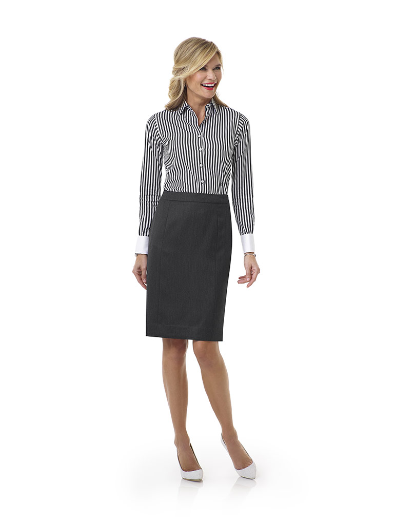 Charcoal Skirt - Tom James Women Collection