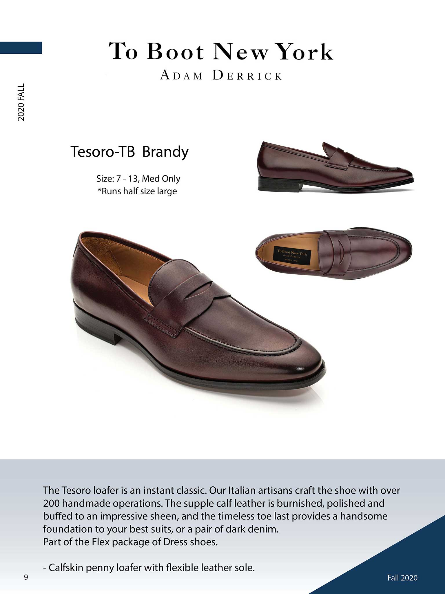Tesoro in Brandy by To Boot New York