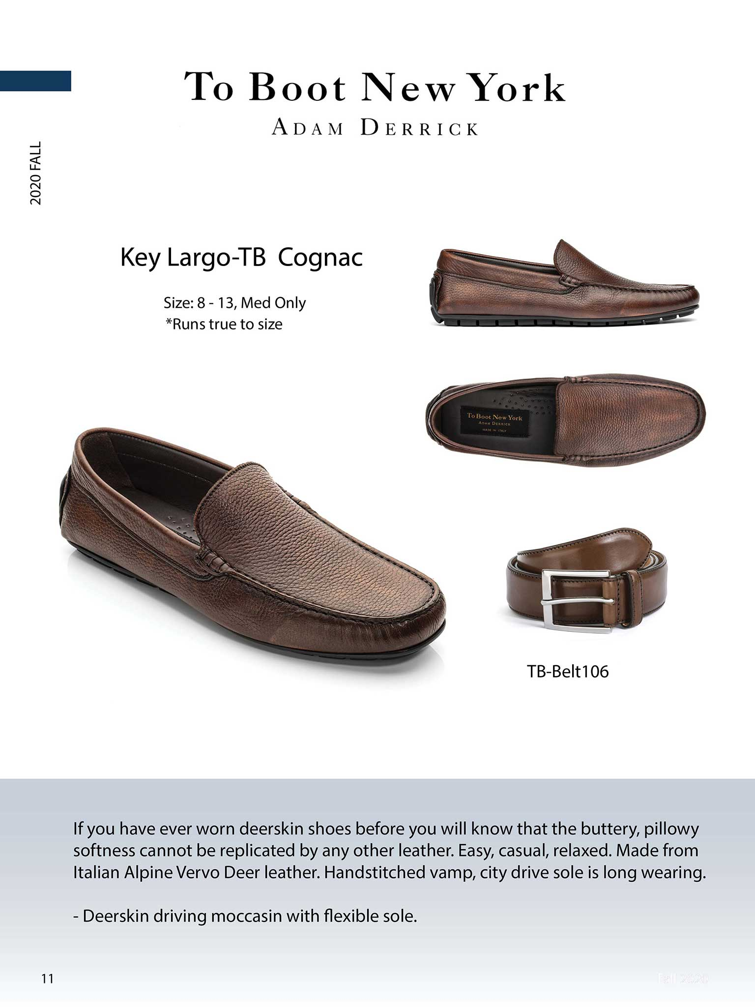Kay Largo in Cognac by To Boot New York