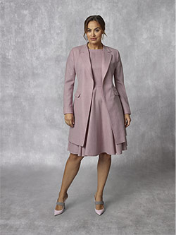 Custom Holland & Sherry -Sherry Mesh Blazers - Pin Plain Dress Suit