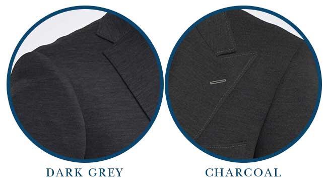 Charcoal and Dark Grey Knit Jacket