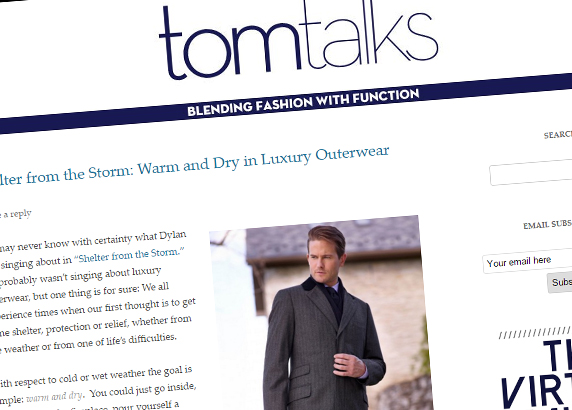 Tom Talks Blog
