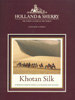 Holland & Sherry Cloth - Khotan Silk