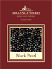 Holland & Sherry Cloth - Black Pearl