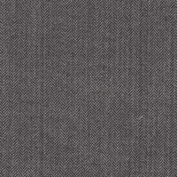Gray 100% Silk Custom Suit Fabric