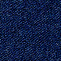 Blue 100% Super 130'S Wool Custom Suit Fabric