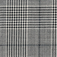 Black&White 100% Super 130'S Wool Custom Suit Fabric