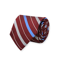 BURGUNDY WVN STRIPE