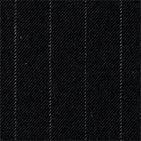 Black 100% Wool Custom Suit Fabric