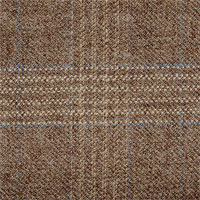 Light Brown 100% Wool Custom Suit Fabric
