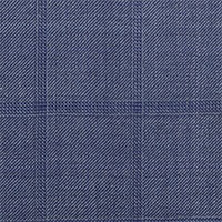 Blue Gray 100% Wool Custom Suit Fabric