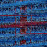 Denim 100% Wool Custom Suit Fabric