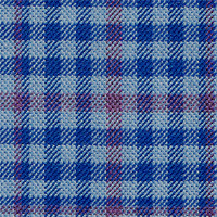 Sky Blue 100% Wool Custom Suit Fabric
