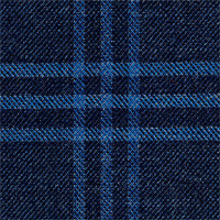 Navy 100% Super 100'S Wool Custom Suit Fabric