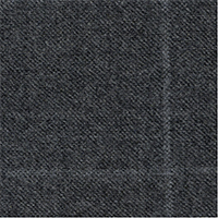 Gray 95% Wool 5% Silk Custom Suit Fabric