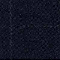 Navy 95% Wool 5% Silk Custom Suit Fabric