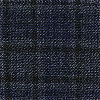 Dark Blue 100% Cashmere Custom Suit Fabric