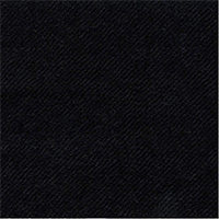 Black 100% Cashmere Custom Suit Fabric