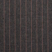 Gray 68% Worsted Wool 32% Micro Custom Suit Fabric