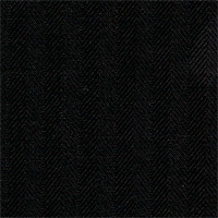 Black 100% Super 100'S Wool Custom Suit Fabric