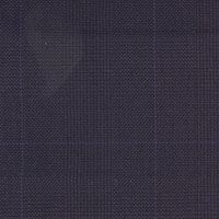 Dark Blue 100% Super 100'S Wool Custom Suit Fabric