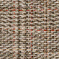 Tan 100% Super 110'S Wool Custom Suit Fabric