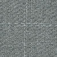 Light Gray 100% Super 110'S Wool Custom Suit Fabric