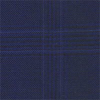 Dark Blue 100% Super 110'S Wool Custom Suit Fabric