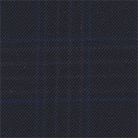 Navy 100% Super 110'S Wool Custom Suit Fabric