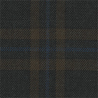 Dark Brown 100% Super 110'S Wool Custom Suit Fabric