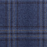 Blue 100% Super 110'S Wool Custom Suit Fabric