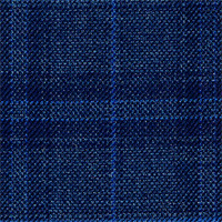 Char Blue 100% Super 110'S Wool Custom Suit Fabric