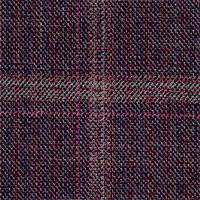 Plum 100% Super 110'S Wool Custom Suit Fabric