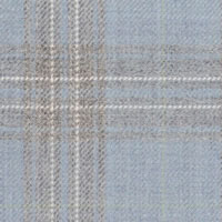 Sky Blue 100% Super 110'S Wool Custom Suit Fabric