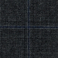 Dark Gray 100% Super 110'S Wool Custom Suit Fabric