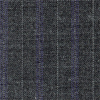 Gray 100% Super 110'S Wool Custom Suit Fabric
