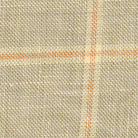 Olive&Taupe 51% Linen 49% Wool Custom Suit Fabric