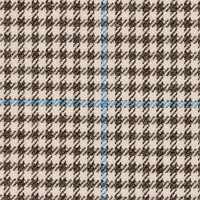 Brown&Creme 80% Wool 20% Silk Custom Suit Fabric