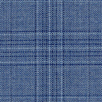 Light Blue 100% Super 130'S Wool Custom Suit Fabric