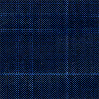 Navy 100% Super 130'S Wool Custom Suit Fabric