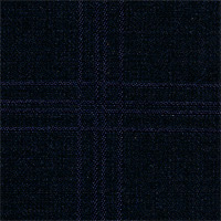 Black&Navy 100% Super 130'S Wool Custom Suit Fabric