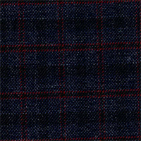 Char Blue 100% Super 140'S Wool Custom Suit Fabric