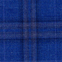 Royal Blue 100% Super 130'S Wool Custom Suit Fabric