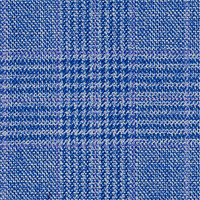 Blue Gray 100% Super 130'S Wool Custom Suit Fabric
