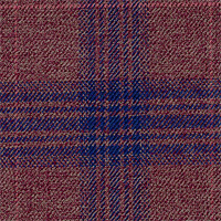 Plum 100% Super 130'S Wool Custom Suit Fabric