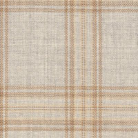 Sand 100% Super 130'S Wool Custom Suit Fabric
